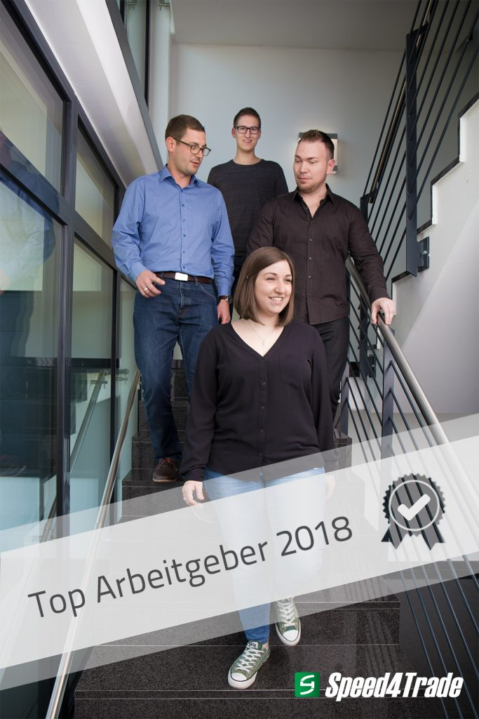 Top Arbeitgeber 2018 | Speed4Trade
