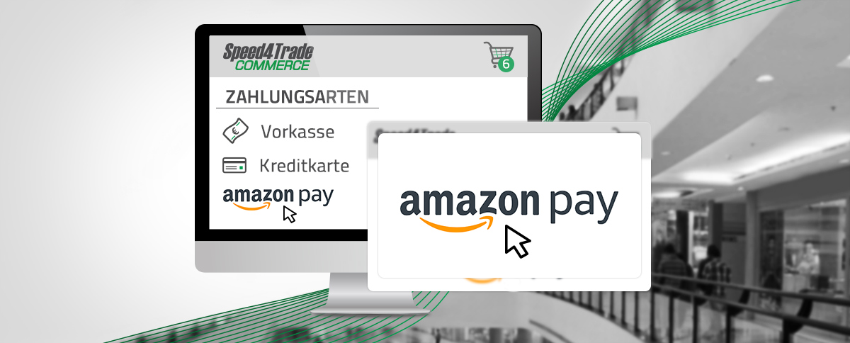 Einbindung von Amazon Pay | Speed4Trade