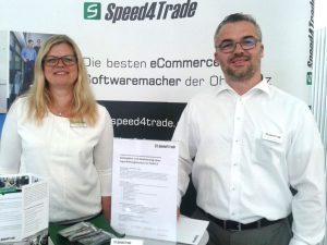 Speed4Trade bei der Unternehmerbörse Hof 2018