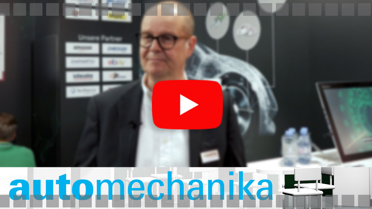 Video von Speed4Trade auf der Automechanika 2018 über die neue COMMERCE-Plattform