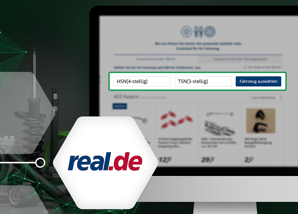 real.de hat seine Kfz-Ersatzteil-Suchfunktion verbessert | Speed4Trade