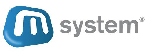 Logo M-System - ERP-Warenwirtschaftssystem für mittelständische handelsorientierte Unternehmen.