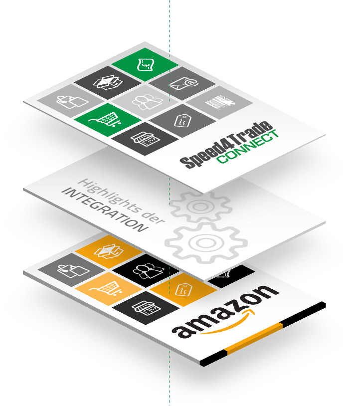 Highlights der Amazon-Integration in Speed4Trade CONNECT